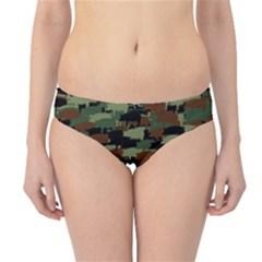 Piggyflage Hipster Bikini Bottoms