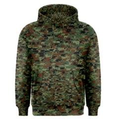 Kittyflage Men s Pullover Hoodies