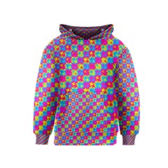 Crazy Yellow and Pink Pattern Kid s Pullover Hoodies