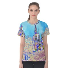 Castle For A Princess Women s Cotton Tees