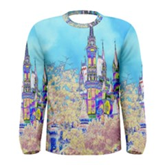 Castle For A Princess Men s Long Sleeve T-shirts