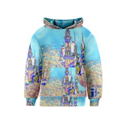 Castle For A Princess Kid s Pullover Hoodies
