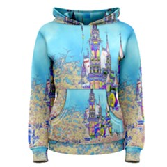 Castle For A Princess Women s Pullover Hoodies