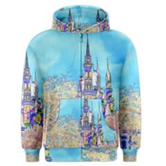 Castle For A Princess Men s Zipper Hoodies