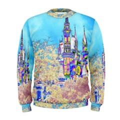 Castle For A Princess Men s Sweatshirts