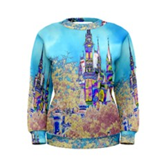Castle For A Princess Women s Sweatshirts