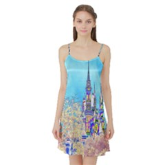 Castle For A Princess Satin Night Slip