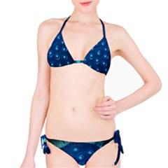 Blue Plant Bikini Set