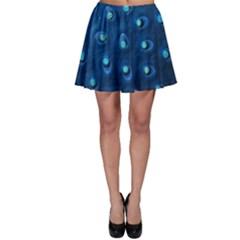 Blue Plant Skater Skirts