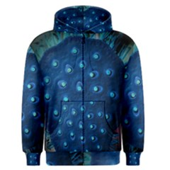 Blue Plant Men s Zipper Hoodies
