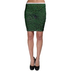 Green Moss Bodycon Skirts