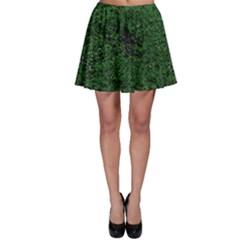 Green Moss Skater Skirts