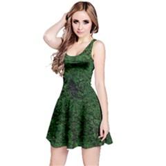 Green Moss Reversible Sleeveless Dresses