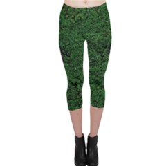 Green Moss Capri Leggings