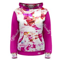 Officially Sexy Candy Collection Pink Women s Pullover Hoodie