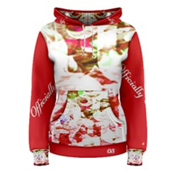 Officially Sexy Candy Collection Red Women s Pullover Hoodie