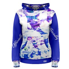 Officially Sexy Candy Collection Blue Women s Pullover Hoodie