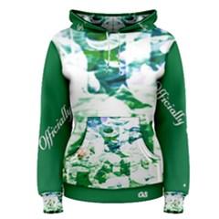 Officially Sexy Candy Collection Green Women s Pullover Hoodie