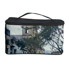 Cathedral At Historic Center Of Bogota Colombia Edited Cosmetic Storage Cases