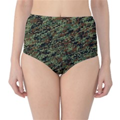 Horseflage High-Waist Bikini Bottoms