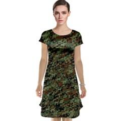 Horseflage Cap Sleeve Nightdresses