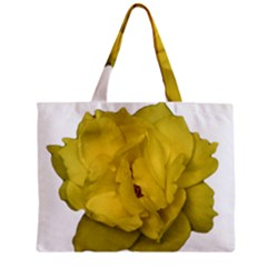 Isolated Yellow Rose Photo Tiny Tote Bags