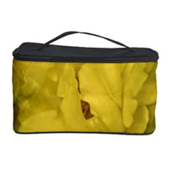 Isolated Yellow Rose Photo Cosmetic Storage Cases