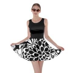70 s Wallpaper Skater Dress