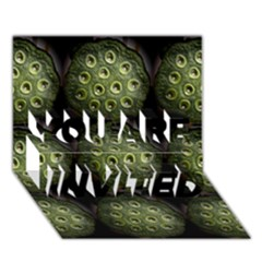 The Others Within YOU ARE INVITED 3D Greeting Card (7x5)