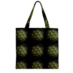 The Others Within Zipper Grocery Tote Bags