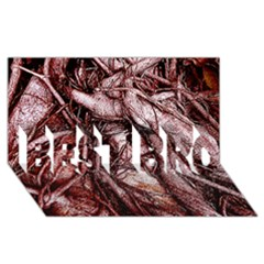 The Bleeding Tree Best Bro 3d Greeting Card (8x4)