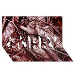 The Bleeding Tree Sorry 3d Greeting Card (8x4)