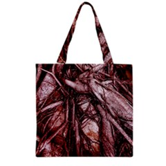 The Bleeding Tree Grocery Tote Bags