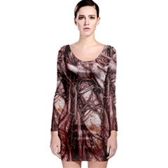 The Bleeding Tree Long Sleeve Bodycon Dresses