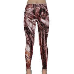The Bleeding Tree Yoga Leggings