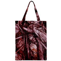 The Bleeding Tree Zipper Classic Tote Bags