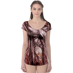 The Bleeding Tree Short Sleeve Leotard