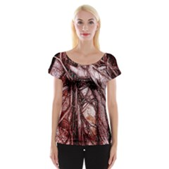 The Bleeding Tree Women s Cap Sleeve Top