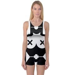 Restraint Women s Boyleg One Piece Swimsuits