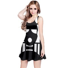 Masked Reversible Sleeveless Dresses