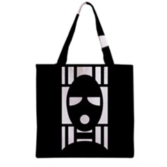 Masked Grocery Tote Bags