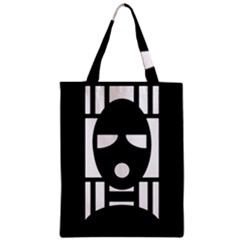 Masked Classic Tote Bags