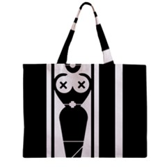 Submissive Zipper Tiny Tote Bags