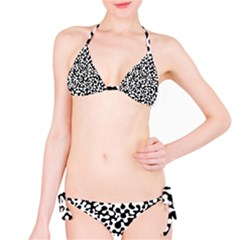 Black and White Blots Bikini