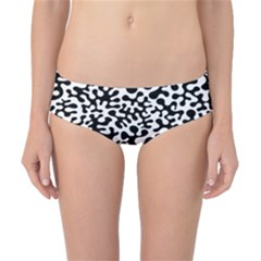 Black and White Blots  Classic Bikini Bottoms