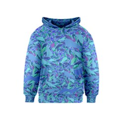 Blue Confetti Storm Kid s Pullover Hoodie