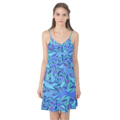 Blue Confetti Storm Camis Nightgown
