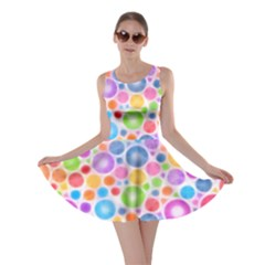 Candy Color s Circles Skater Dress