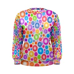 Candy Color s Circles Women s Sweatshirt