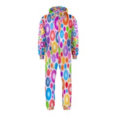 Candy Color s Circles Hooded Jumpsuit (Kids)